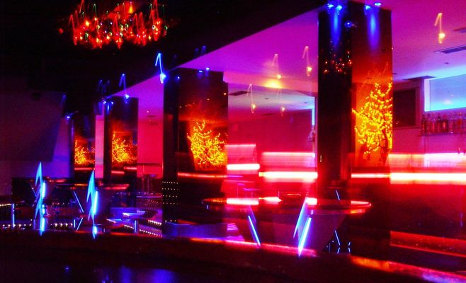 the basement club is located in the heart of the tourist area of